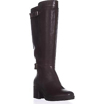 naturalizer Rozene Wide Calf Riding Boots, Ox Brown