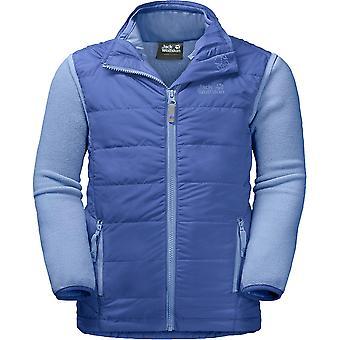 Jack Wolfskin Boys & Girls Glen Dale Warm 3-in-1 Fleece Gilet Jacket