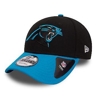 Nuova Era 9Forty curva regolabile Cap ~ Carolina Panthers