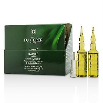 Rene Furterer Karite Nutri Nourishing Ritual Intense Nourishing Oil (Very Dry Hair) - 24x10ml/0.33oz