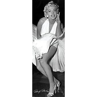 Marilyn Monroe - sete ano coceira Poster Poster Print by Matthew Zimmerman