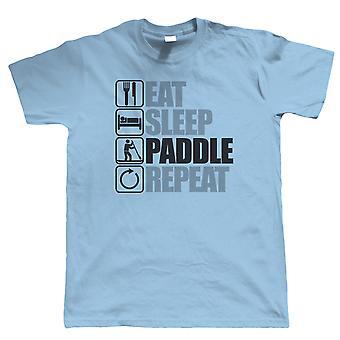 Eat Sleep Paddle Board, Mens T Shirt
