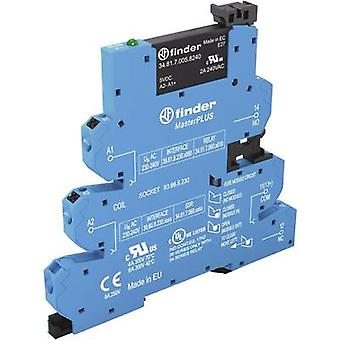 Finder SSR 1 pc(s) 39.60.3.125.9024 Current load (max.): 2 A Switching voltage (max.): 24 Vdc