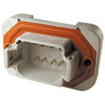 TE Connectivity DT15-08PA Bullet connector Plug, vertical mount Series (connectors): DT Total number of pins: 8 1 pc(s)