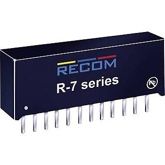RECOM R-745.0P DC/DC converter (print) 5 Vdc 4 A 20 W No. of outputs: 1 x