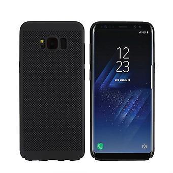 Caso de telefone celular para Samsung Galaxy S8 manga caso bolsa capa case preto