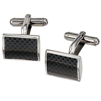 Cufflinks cuff buttons stainless steel ROBBY