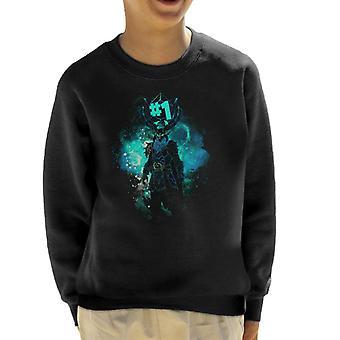 Rognarock Art Fortnite Kid's Sweatshirt