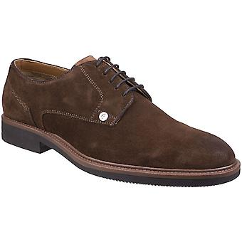 Gabicci Mens Mercer Gibson Hardwearing Suede Lace Up Shoes