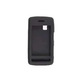 Wireless Solutions funda de Gel de silicona para LG Vu CU915, CU920 (negro)