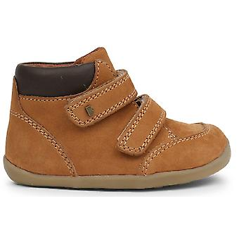 Bobux Step Up Boys Timber Boots Mustard