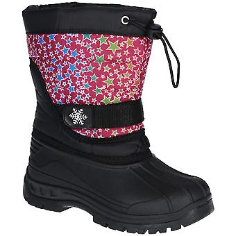 Cotswold Girls Icicle Durable Lightweight Winter Snow Boots