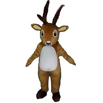 mascot SPOTSOUND of caribou, moose, Brown and white reindeer