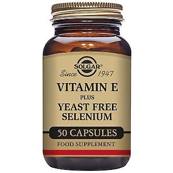 Solgar Vitamin E Selenium 50 Capsules (Vitamins & supplements , Vitamins)