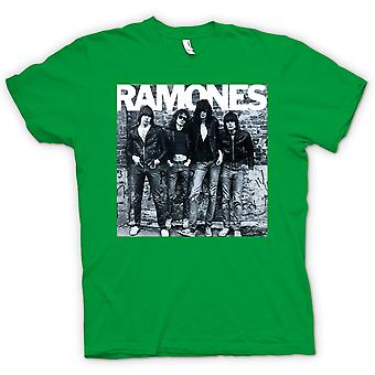 Mens T-shirt-Ramones - Punk-Rock - Album-Cover