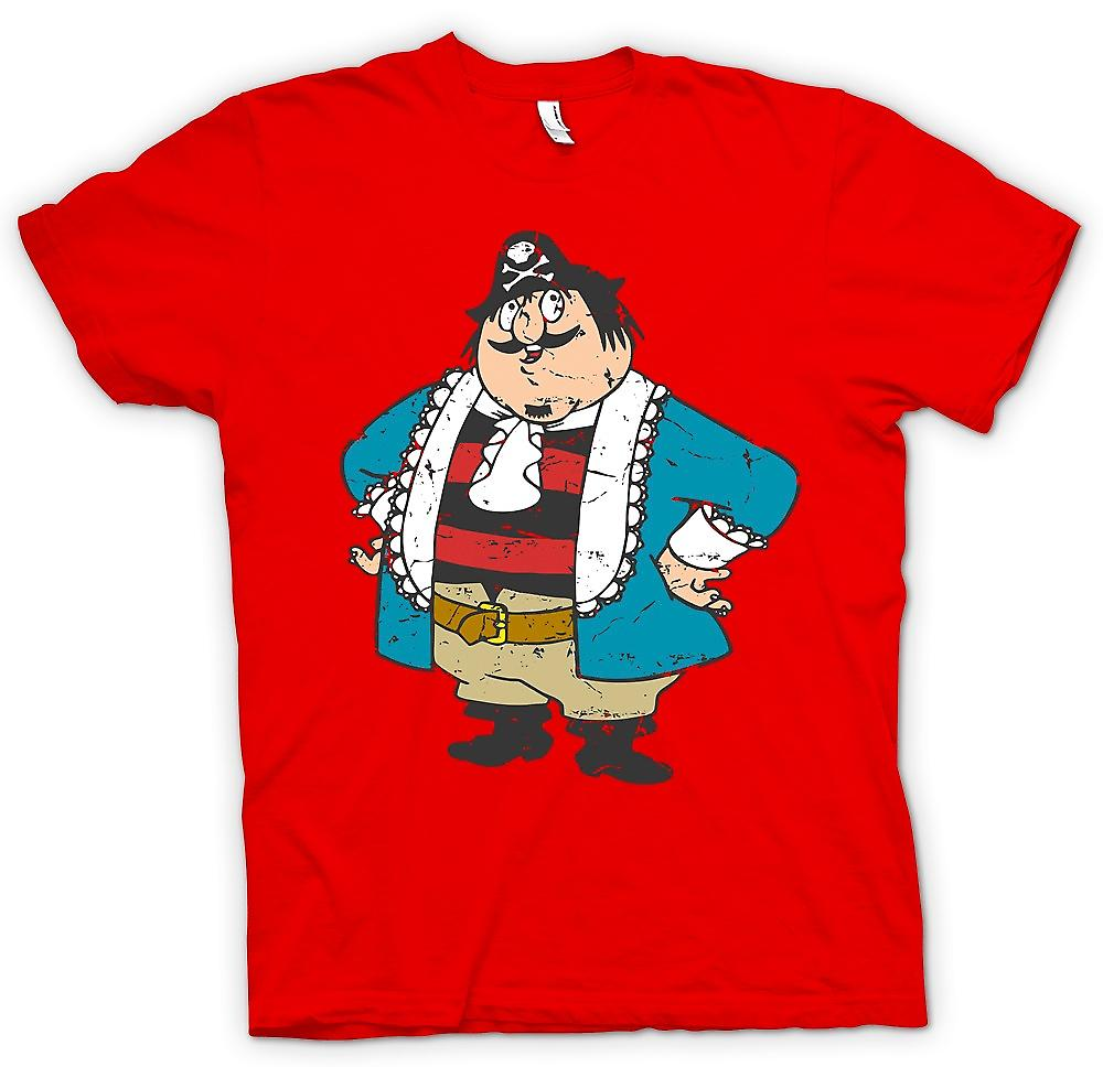 Mens T-shirt - Capitaine Pugwash Cartoon - Retro