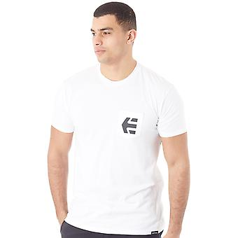 Etnies White Icon Pocket T-Shirt