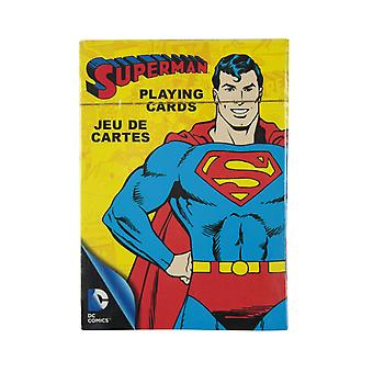 Superman Retro Playing CardsMulticoloured
