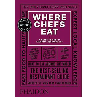 Where Chefs Eat: A Guide to�Chefs' Favorite Restaurants�(Third Edition)