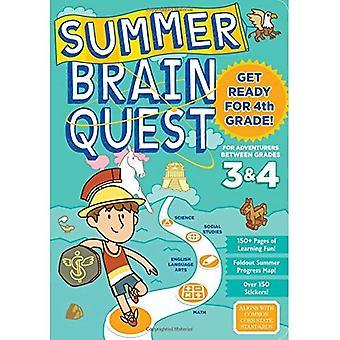 Quête de cerveau d'été: Entre les Grades 3 & 4 (Summer Brain Quest)
