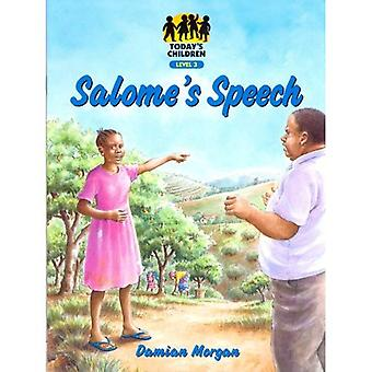 Salome's Speech: Level 3