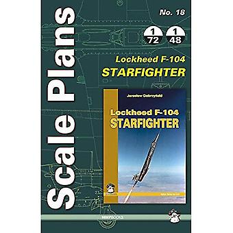 Scale Plans Lockheed Starfighter F-104 (Scale Models)