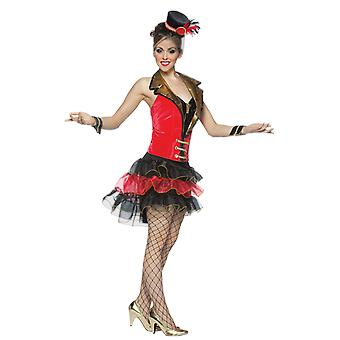 Womens Big Top Diva Ringmaster Circus Carnival Fancy Dress Costume