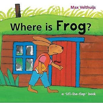 Où se trouve la grenouille? [Cartonné]