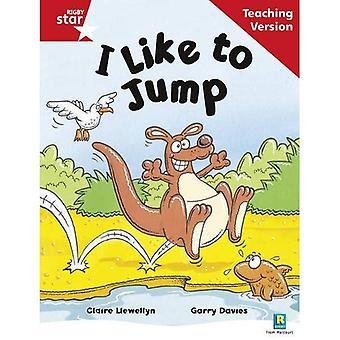 Jag gillar att hoppa: röd nivå (Rigby stjärna guidad)