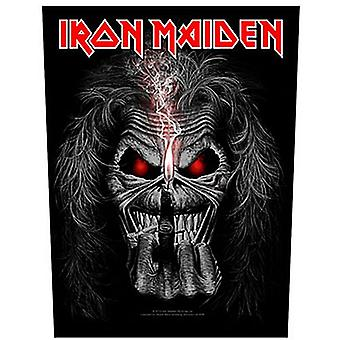Iron Maiden Eddie Candle Finger Large Sew-On Back Patch