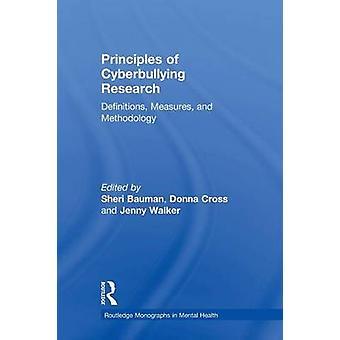 مبادئ تعريفات البحث تسلط التدابير ومنهجية شيري & بومان
