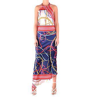 Pinko Multicolor Nylon Dress