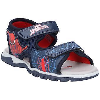 Leomil chłopców Spiderman lekkie elastyczne sportowe sandały