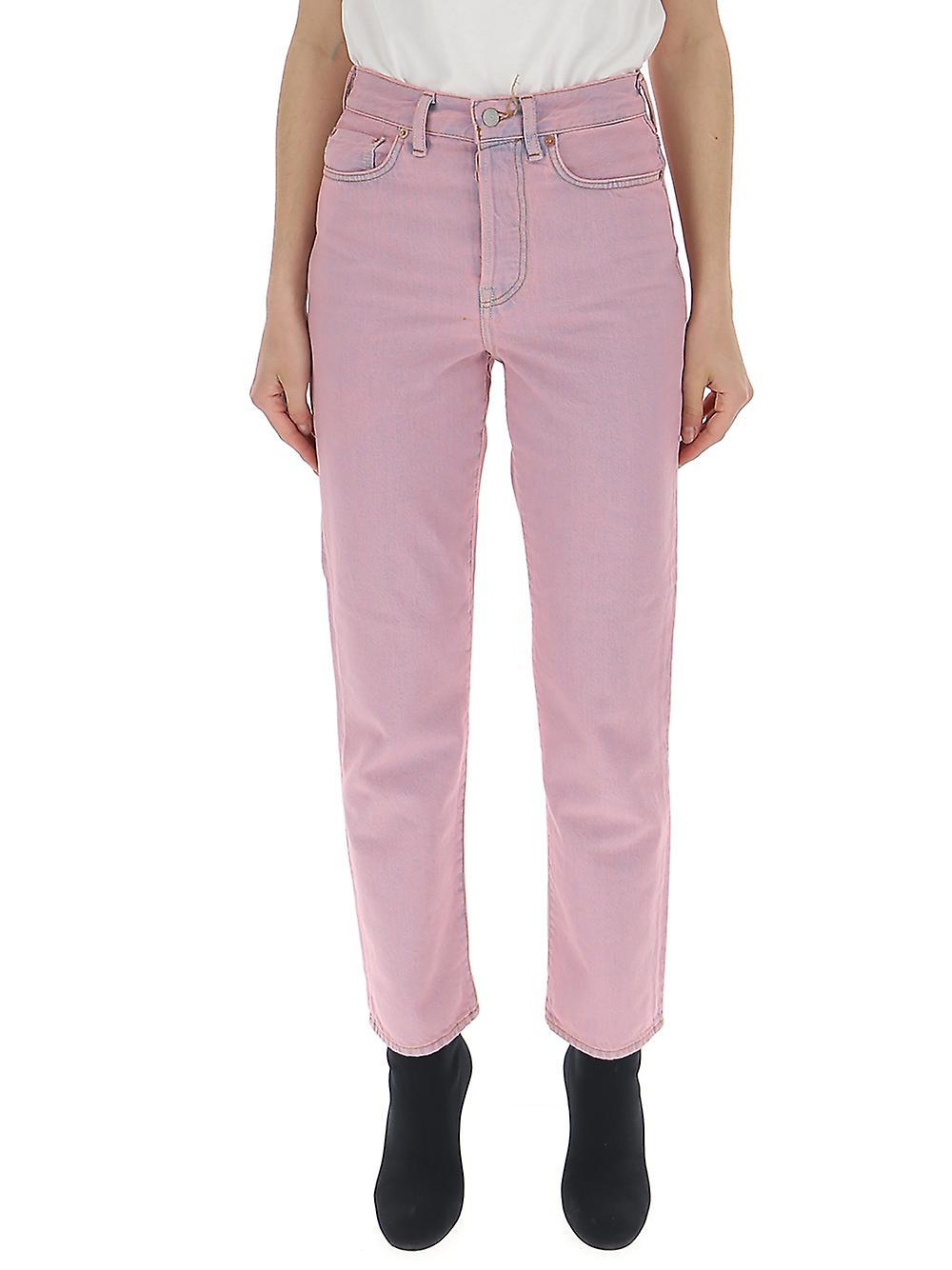Acne Studios Pink Denim Jeans
