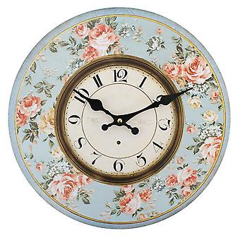 Something Different 34cm Floral Clock