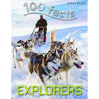 100 faits explorateurs par Dan North-9781782093619 livre