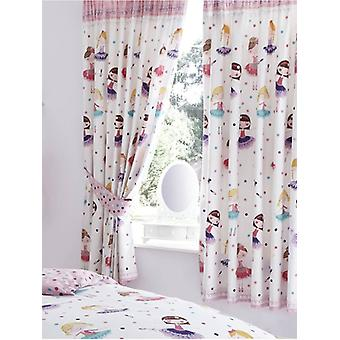 Ballerina Lined Curtains