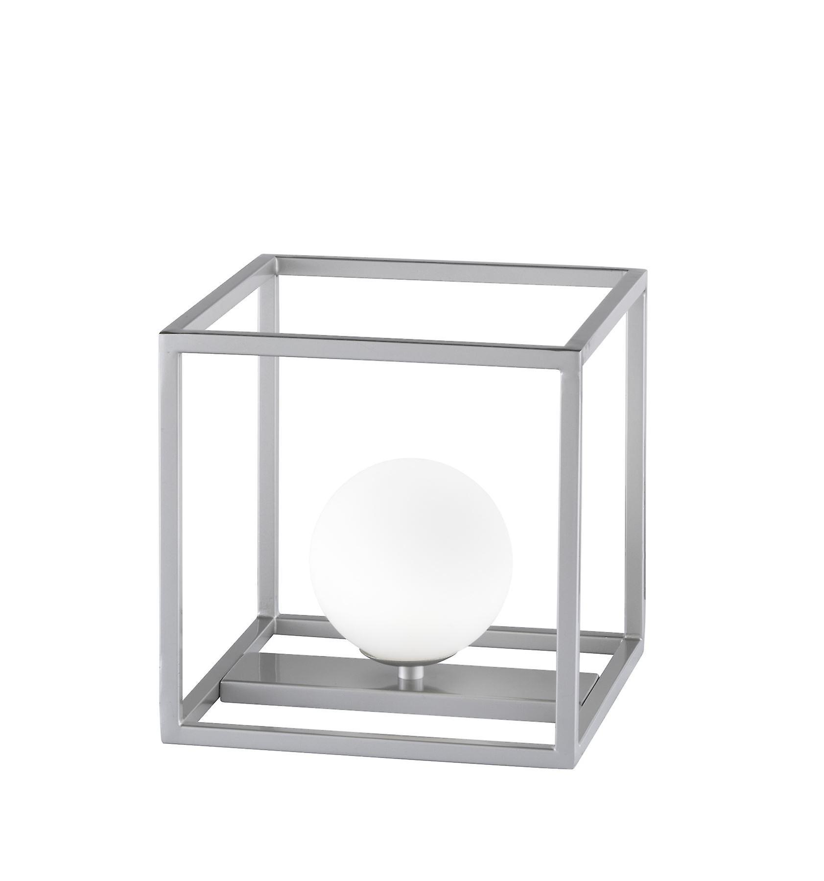 Wofi Aurelia - 1 lampe de table légère Matt Nickel - 8341.01.64.8000
