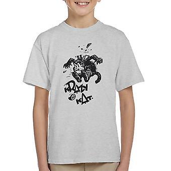 Krazy Kat Jump camiseta para niños