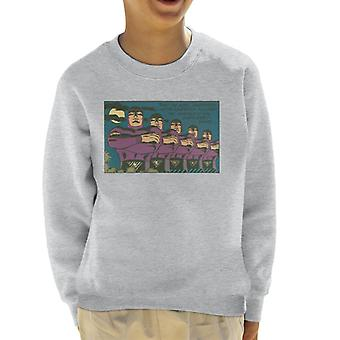 The Phantom Thru The Ages Kid's Sweatshirt