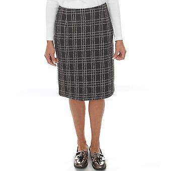 Pomodoro Skirt Red Or Grey 41954