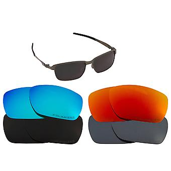 Replacement Lenses Compatible with OAKLEY TINFOIL by SEEK OPTICS