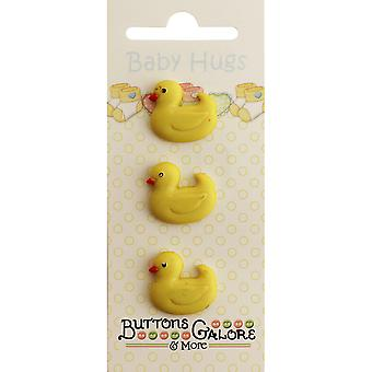 Baby Hugs Buttons-Ducky BH-121