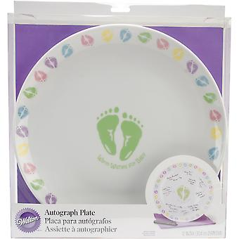 Autograph Plate ?X? Baby Feet 10031020