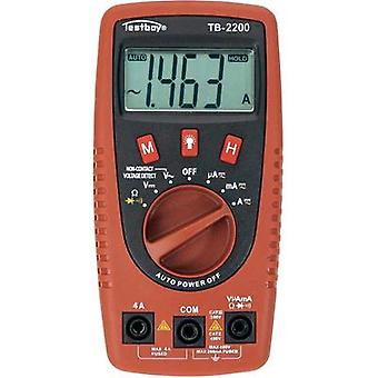 Handheld multimeter digital Testboy TB-2200 Calibrated to ISO standards