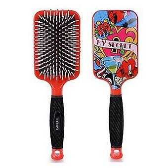 Bifull Brush Tattoo Racket (Woman , Hair Care , Combs and brushes , Hair brushes)