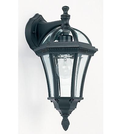 Endon YG-3501 Exterior Wall Lantern In Black