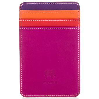 Mywalit Purple Leather Credit Card Holder