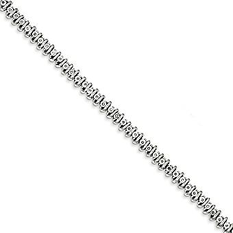 Sterling Silver Diamond Tennis Bracelet - .25 dwt