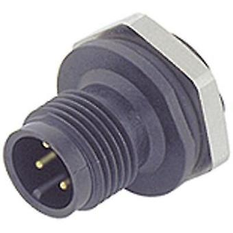 Binder 09-0431-87-04 09-0431-87-04 M12 Sensor / Actuator Connector, Screw Cap, Straight
